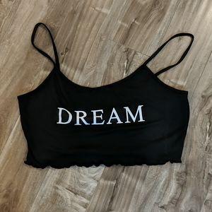 """❄️ 3/$25 Cute """"Dream"""" Cropped Cami"""